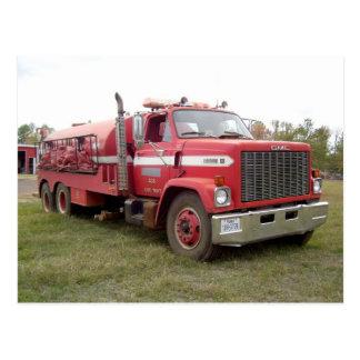 Postal voluntaria #5 del cuerpo de bomberos de Smi