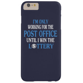 Postal worker barely there iPhone 6 plus case
