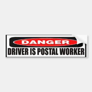 Postal Worker Bumper Sticker Car Bumper Sticker