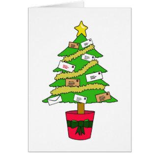 Postal Worker Happy Christmas Card