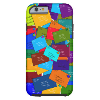 Postal Worker iPhone 6 hardcase Letters Tough iPhone 6 Case