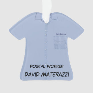 Postal Worker Ornament