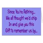 Postal Worker Retirement Card--- Greeting Card