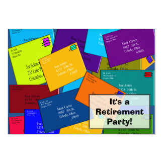 Postal Worker Retirement Invitations Letters