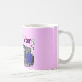Postal Worker Sock Monkey Classic White Coffee Mug