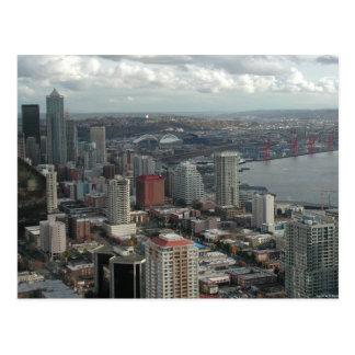 Postales aéreas céntricas de la foto de Seattle