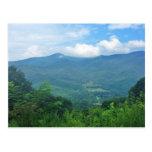 Postales ahumadas de las montañas