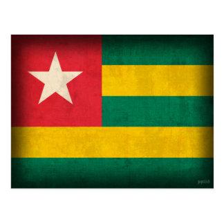 Postales apenadas bandera de Togo