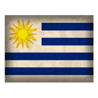 Postales apenadas bandera de Uruguay