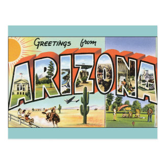 Postales Arizona del vintage