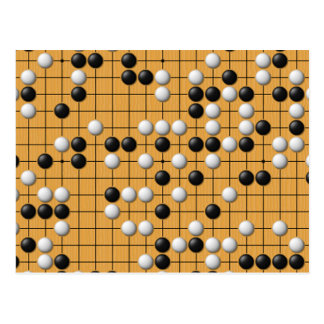 Postales asiáticas del juego de mesa de Paduk Badu