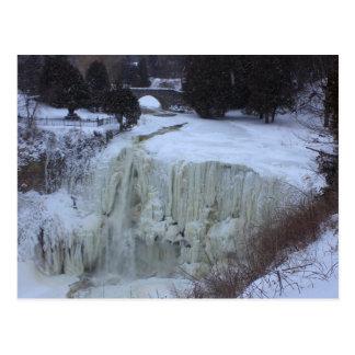 Postales, caídas de Webster, Hamilton, Ontario, Tarjeta Postal