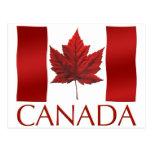 Postales canadienses del recuerdo de las postales