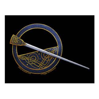 Postales célticas #2 del diseño de la broche