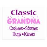 Postales clásicas de la abuela