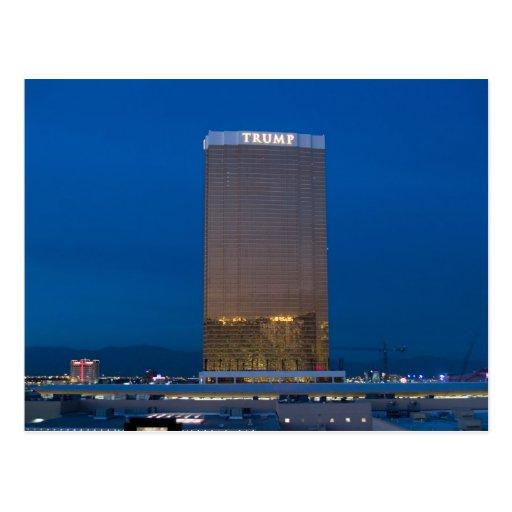 Postales crepusculares de la foto de Las Vegas del