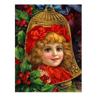 Postales de Bell de navidad del Victorian