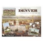 Postales de Denver de la Milla-Alta ciudad, vintag Tarjetas Publicitarias