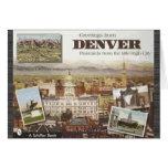Postales de Denver de la Milla-Alta ciudad, vintag Felicitaciones