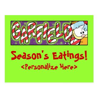 Postales de Eatings de la estación de Garfield Log