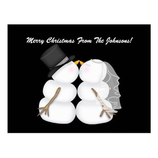 Postales de encargo del navidad del boda