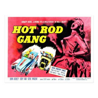 Postales de Gang del coche de carreras 1958) (