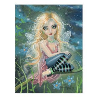 Postales de hadas del arte de la fantasía de la lu