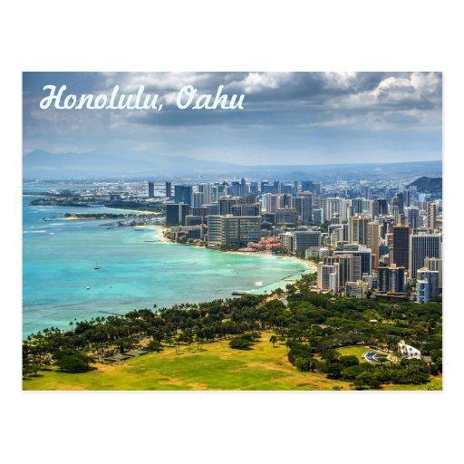 Postales de Honolulu, Oahu