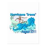 "Postales de ""Irene"" del huracán"