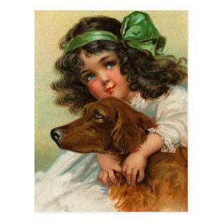 Postales de Irish Setter del vintage