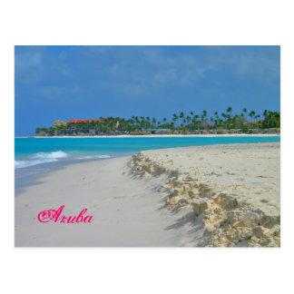 Postales de la arena y de la resaca de Aruba