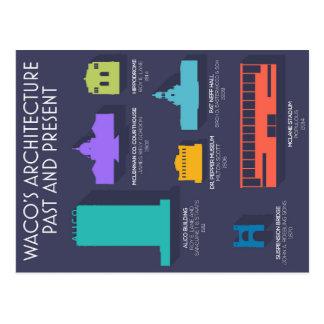 Postales de la arquitectura de Waco