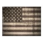 Postales de la bandera americana del vintage