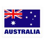 Postales de la bandera de Australia