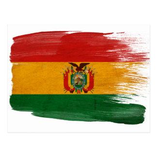 Postales de la bandera de Bolivia