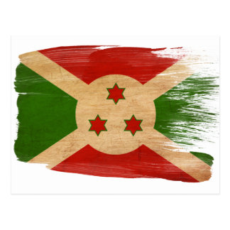 Postales de la bandera de Burundi