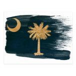 Postales de la bandera de Carolina del Sur