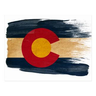 Postales de la bandera de Colorado