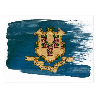 Postales de la bandera de Connecticut