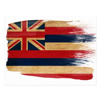 Postales de la bandera de Hawaii