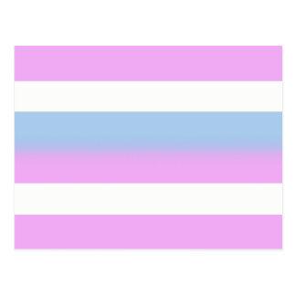 Postales de la bandera de Intersex