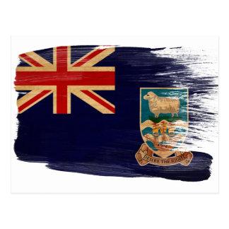 Postales de la bandera de Islas Malvinas