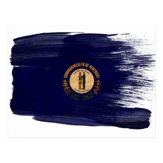 Postales de la bandera de Kentucky