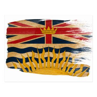 Postales de la bandera de la Columbia Británica