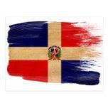 Postales de la bandera de la República Dominicana