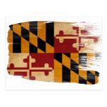 Postales de la bandera de Maryland