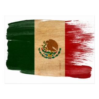 Postales de la bandera de México