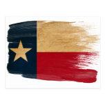 Postales de la bandera de Tejas