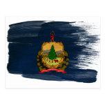 Postales de la bandera de Vermont