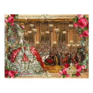 Postales de la bola de Marie Antonieta Versalles